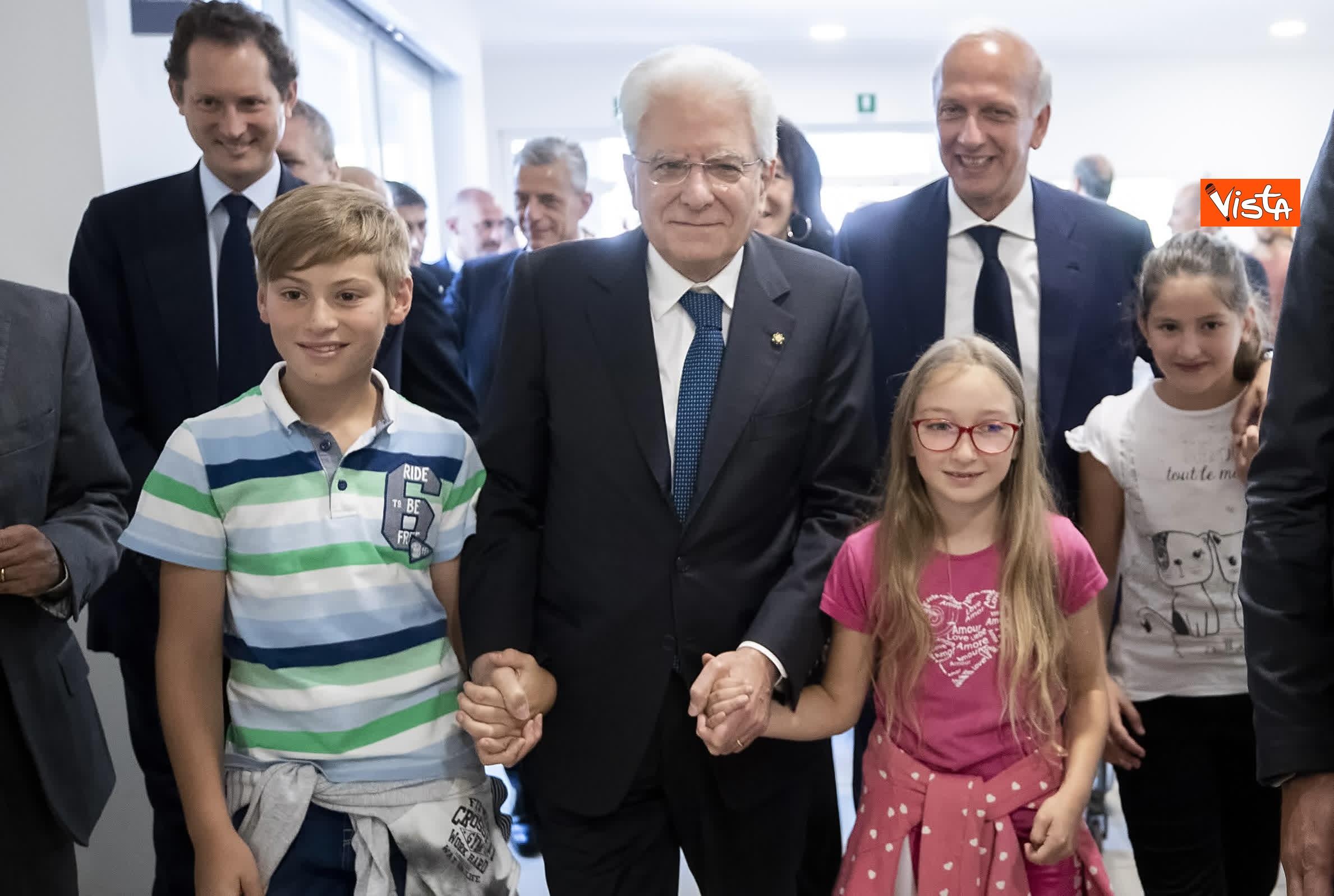 18-07-19 Il Presidente Mattarella visita l'Istituto omnicomprensivo Romolo Capranica di Amatrice_11