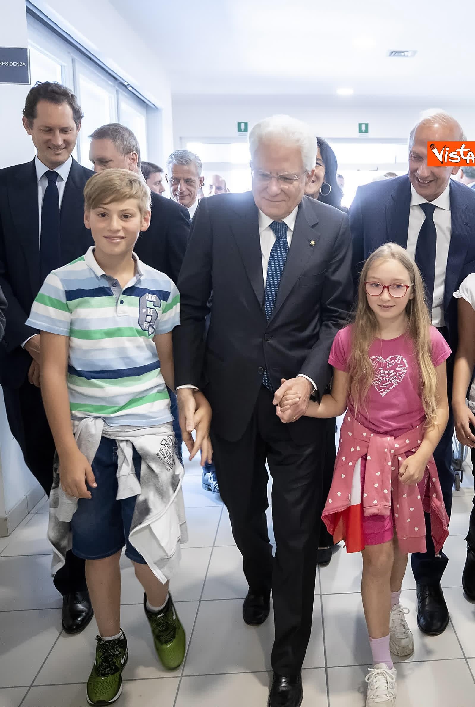 18-07-19 Il Presidente Mattarella visita l'Istituto omnicomprensivo Romolo Capranica di Amatrice_10