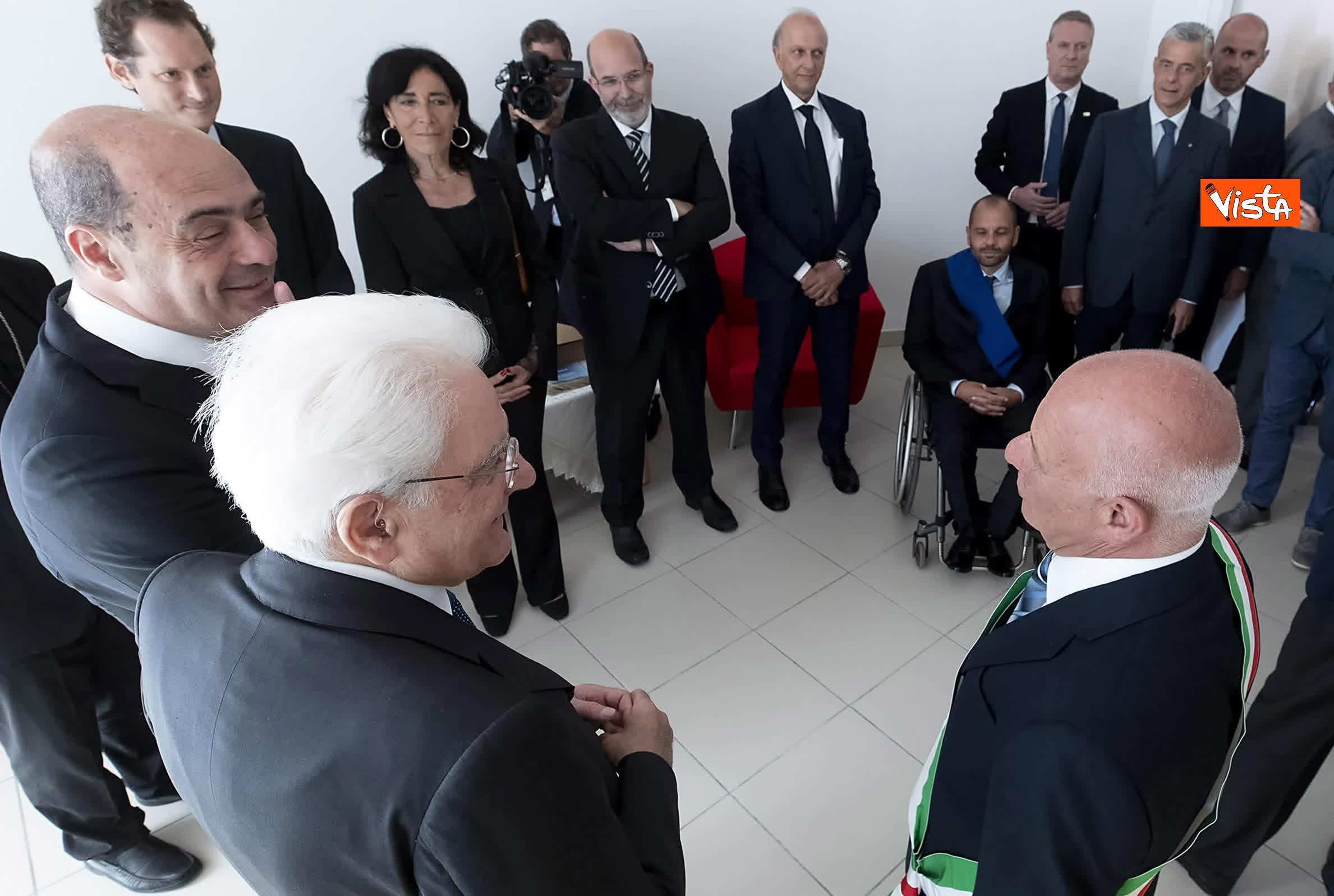 18-07-19 Il Presidente Mattarella visita l'Istituto omnicomprensivo Romolo Capranica di Amatrice_04