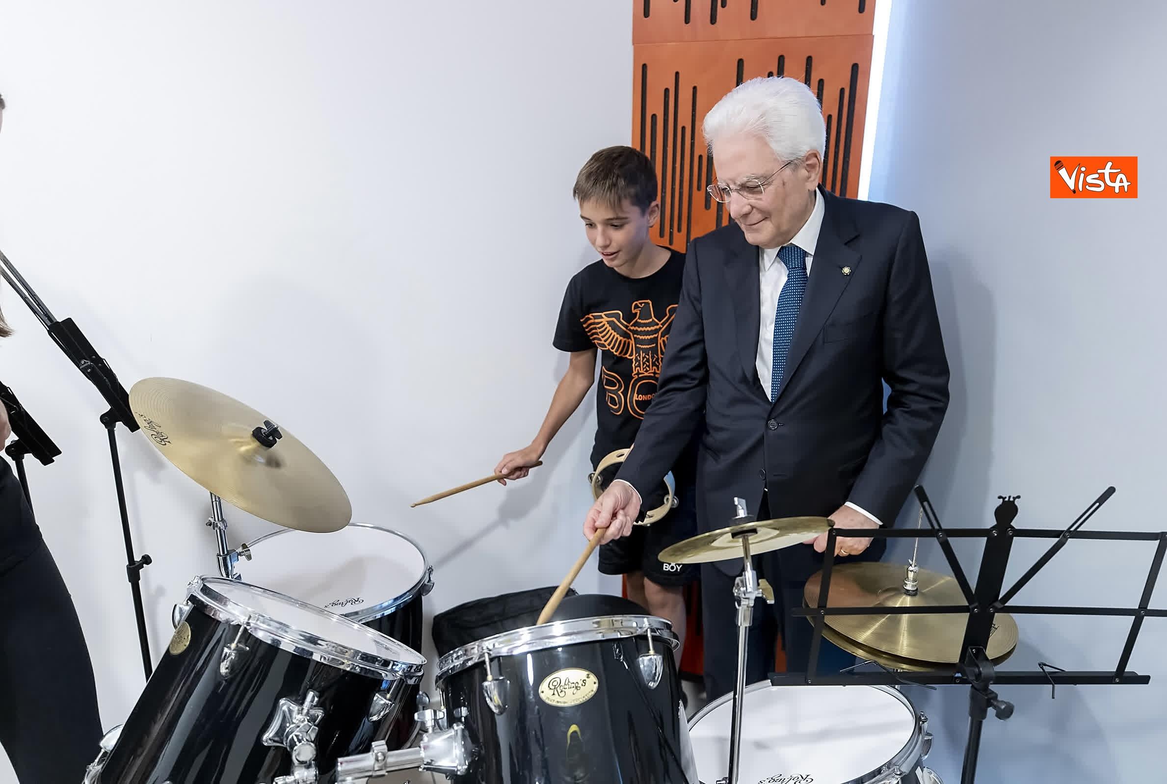 18-07-19 Il Presidente Mattarella visita l'Istituto omnicomprensivo Romolo Capranica di Amatrice_13