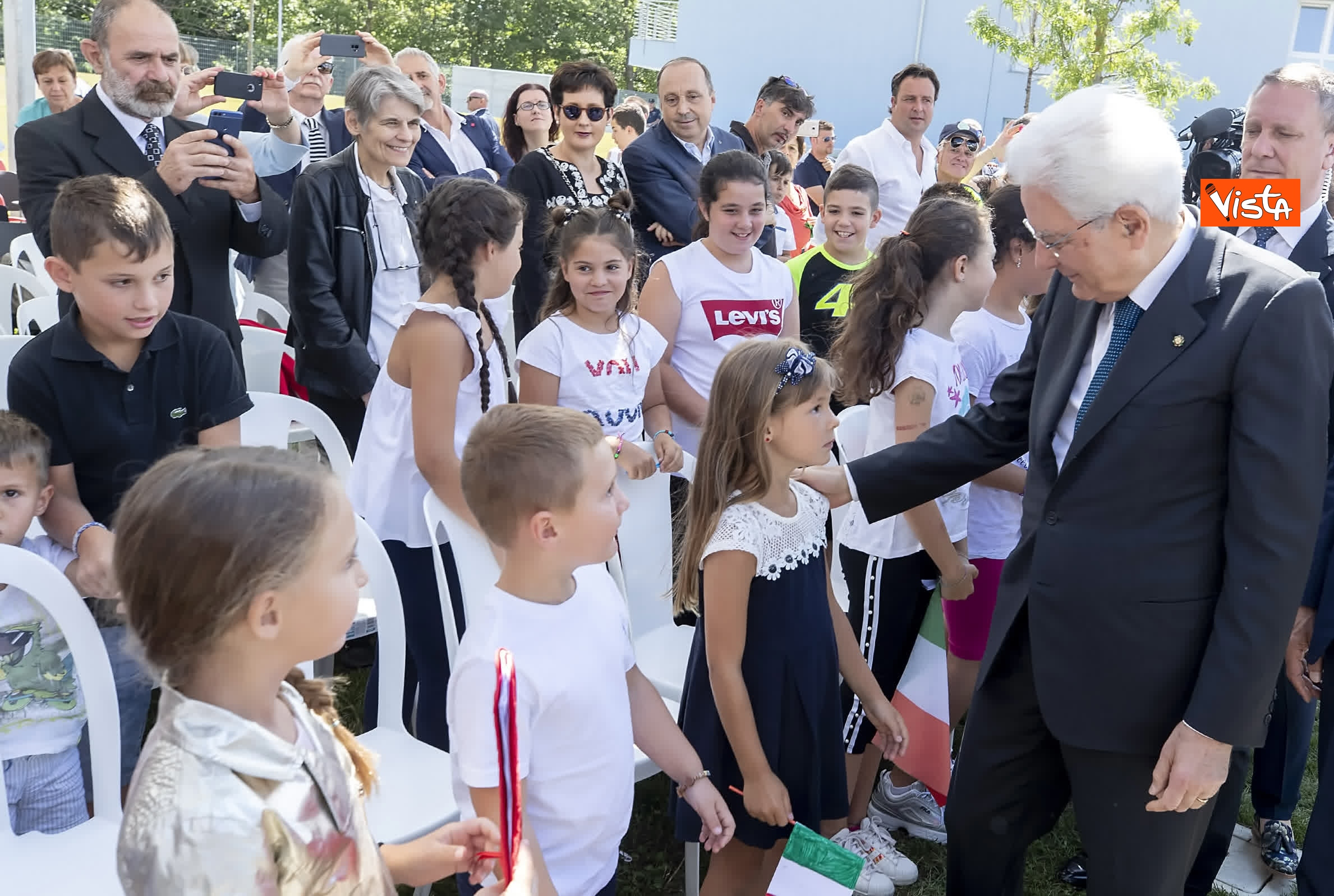 18-07-19 Il Presidente Mattarella visita l'Istituto omnicomprensivo Romolo Capranica di Amatrice_15