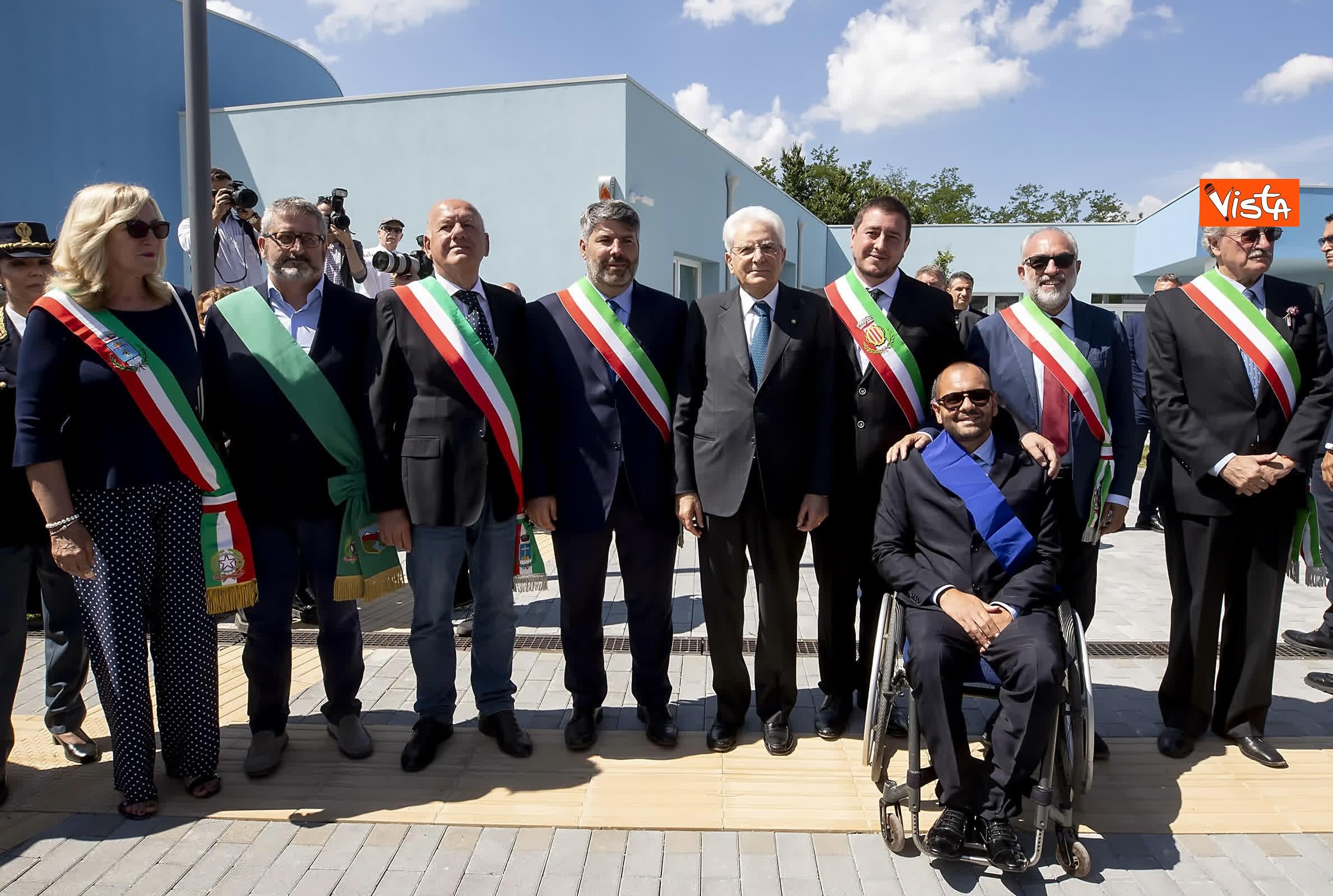 18-07-19 Il Presidente Mattarella visita l'Istituto omnicomprensivo Romolo Capranica di Amatrice_16