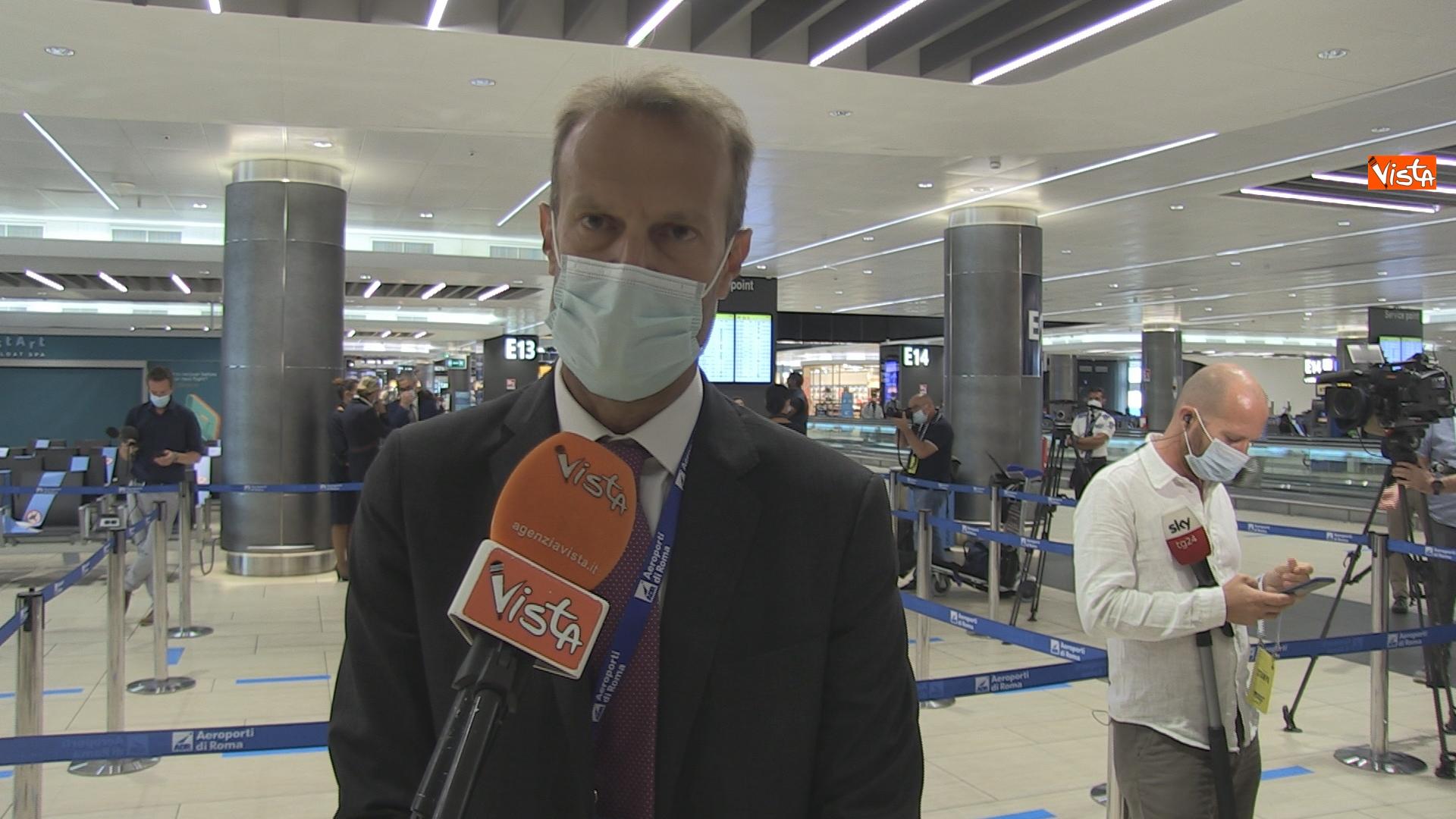 L'amministratore delegato di Aeroporti di Roma presenta il lancio dei voli sperimentali Covid-free.