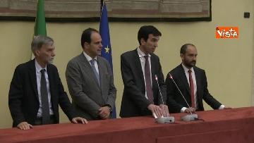 7 - Martina, Delrio, Orfini e Marcucci alle Consultazioni con il presidente della Camera Fico
