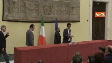 4 - Martina, Delrio, Orfini e Marcucci alle Consultazioni con il presidente della Camera Fico