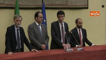 8 - Martina, Delrio, Orfini e Marcucci alle Consultazioni con il presidente della Camera Fico