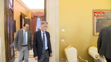 11 - Martina, Delrio, Orfini e Marcucci alle Consultazioni con il presidente della Camera Fico