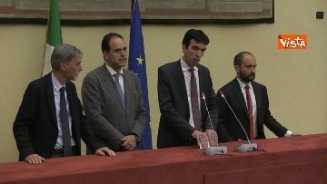 6 - Martina, Delrio, Orfini e Marcucci alle Consultazioni con il presidente della Camera Fico