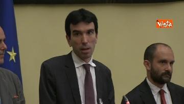 10 - Martina, Delrio, Orfini e Marcucci alle Consultazioni con il presidente della Camera Fico