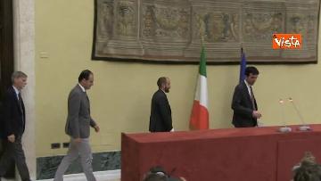 3 - Martina, Delrio, Orfini e Marcucci alle Consultazioni con il presidente della Camera Fico
