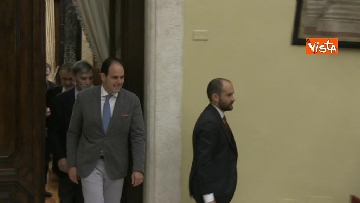 2 - Martina, Delrio, Orfini e Marcucci alle Consultazioni con il presidente della Camera Fico