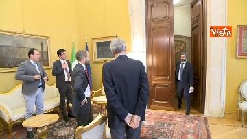 13 - Martina, Delrio, Orfini e Marcucci alle Consultazioni con il presidente della Camera Fico