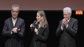 9 - Il presidente della Repubblica Mattarella all'inaugurazione della XXII Triennale di Milano