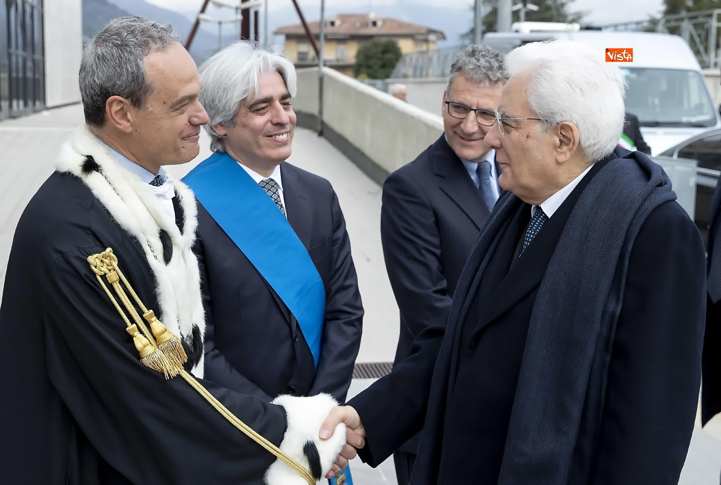 11-03-19 Mattarella alla cerimonia di inaugurazione dell Anno Accademico dell Universita di Cassino