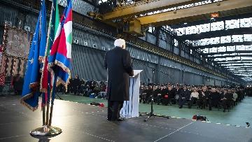 1 - Mattarella a Cornigliano alla commemorazione per i 40 anni da omicidio Guido Rossa