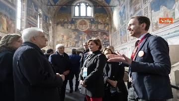 17 - Padova Capitale europea del volontariato, le immagini della visita di Mattarella