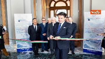 2 - Mattarella e Conte all'inaugurazione della sede unitaria dell'Intelligence