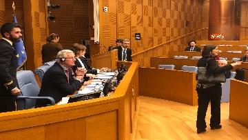 7 - Negoziatore Ue per Brexit, Barnier, incontra Fico e viene ascoltato in Commissione Esteri