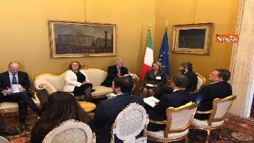 5 - Negoziatore Ue per Brexit, Barnier, incontra Fico e viene ascoltato in Commissione Esteri
