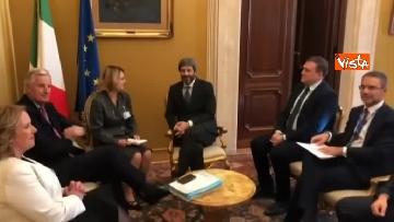 3 - Negoziatore Ue per Brexit, Barnier, incontra Fico e viene ascoltato in Commissione Esteri