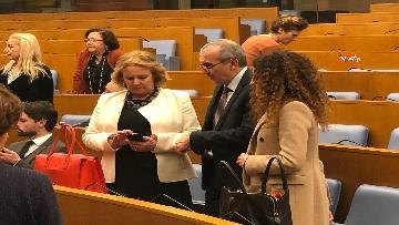 9 - Negoziatore Ue per Brexit, Barnier, incontra Fico e viene ascoltato in Commissione Esteri