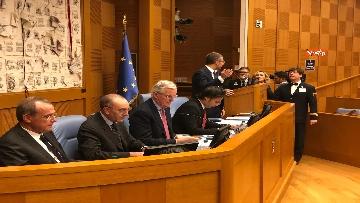 8 - Negoziatore Ue per Brexit, Barnier, incontra Fico e viene ascoltato in Commissione Esteri