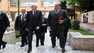 6 - Mattarella alla cerimonia di intitolazione dell'Aula XIII a Massimo D'Antona.