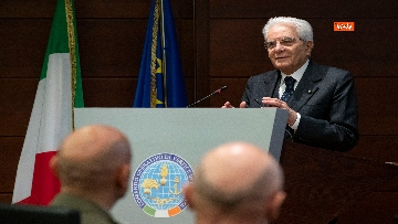 4 - Mattarella al Coi per il saluto ai militari italiani in missione all'estero