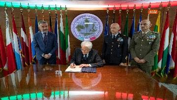 2 - Mattarella al Coi per il saluto ai militari italiani in missione all'estero