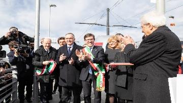 3 - Mattarella inaugura la tramvia D2 a Firenze