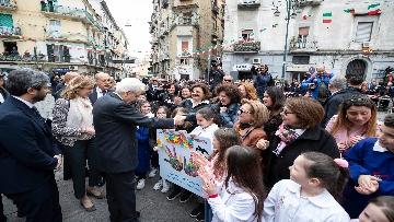 4 - Il presidente della Repubblica Mattarella visita il Rione Sanità