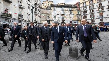 3 - Il presidente della Repubblica Mattarella visita il Rione Sanità