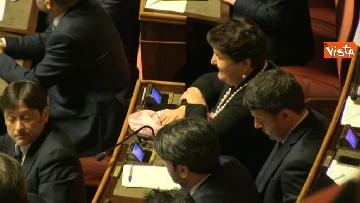 12 - Napolitano apre la prima seduta del Senato