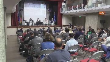 6 - Stato dell'Unione, Amendola e capo rappresentanza commissione UE in Italia Parenti seguono discorso von der Leyen, le foto