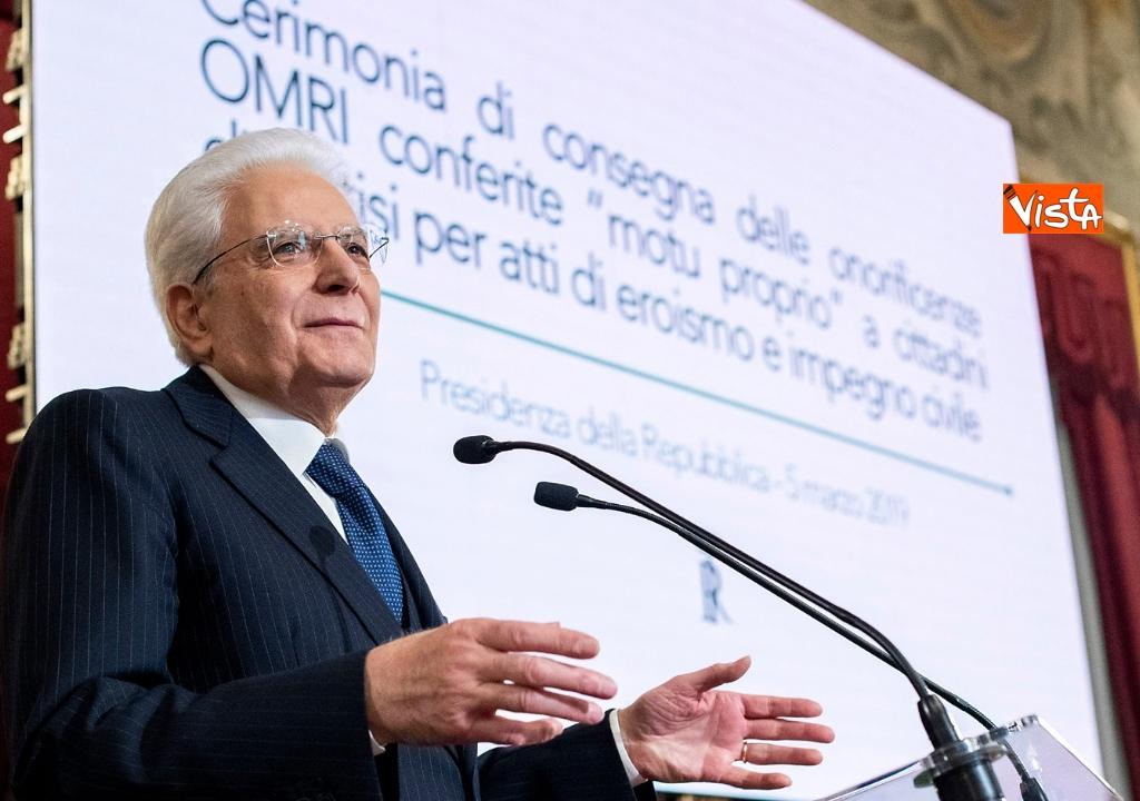 05-03-19 Mattarella onorificenze OIMR 02