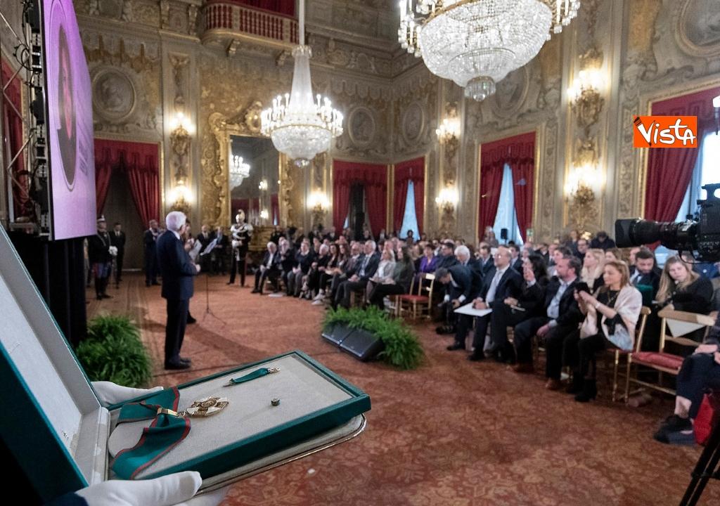05-03-19 Mattarella onorificenze OIMR 05