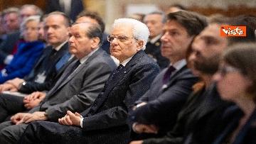 2 - Mattarella alla presentazione del rapporto dell'autorità garante dei diritti dei detenuti