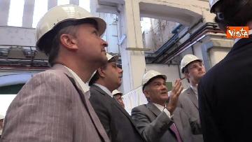 8 - Ponte Morandi, Toti, Rixi, Bono e Zampini visitano Ansaldo Energia, le immagini