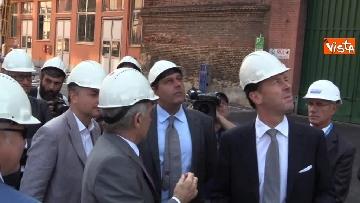 2 - Ponte Morandi, Toti, Rixi, Bono e Zampini visitano Ansaldo Energia, le immagini