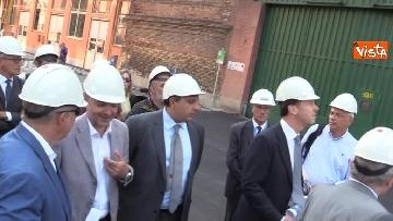 4 - Ponte Morandi, Toti, Rixi, Bono e Zampini visitano Ansaldo Energia, le immagini