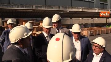 10 - Ponte Morandi, Toti, Rixi, Bono e Zampini visitano Ansaldo Energia, le immagini