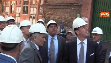3 - Ponte Morandi, Toti, Rixi, Bono e Zampini visitano Ansaldo Energia, le immagini