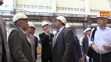 6 - Ponte Morandi, Toti, Rixi, Bono e Zampini visitano Ansaldo Energia, le immagini