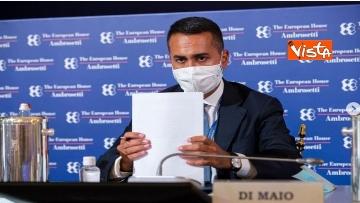3 - Forum Ambrosetti di Cernobbio, le immagini del Ministro Di Maio a  Villa d'Este
