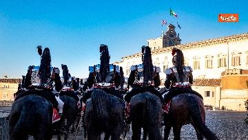 1 - Festa Tricolore, il cambio della Guardia solenne al Quirinale