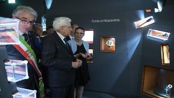 1 - Mattarella a Vittorio Veneto visita il Museo della Battaglia