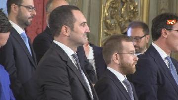 4 - Il giuramento del Ministro dello Sport Vincenzo Spadafora