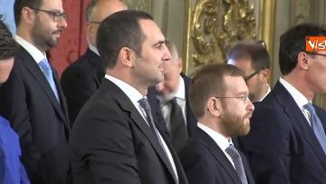 2 - Il giuramento del Ministro dello Sport Vincenzo Spadafora
