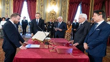 2 - Il giuramento del Ministro per il Sud Giuseppe Provenzano