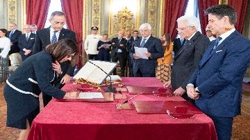 3 - Il giuramento del Ministro dei Trasporti Paola De Micheli